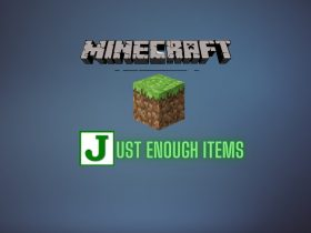 Just Enough Items mod in minecraft